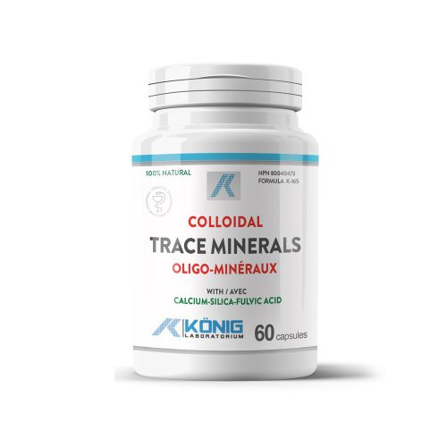 Colloidal Trace Minerals with Fulvic Acid
