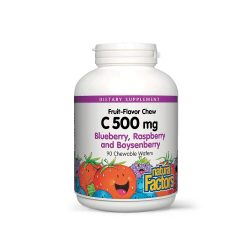Vitamin C-500 with Bioflavonoids, Rutin, Rosehip and Wild Fruit Extracts