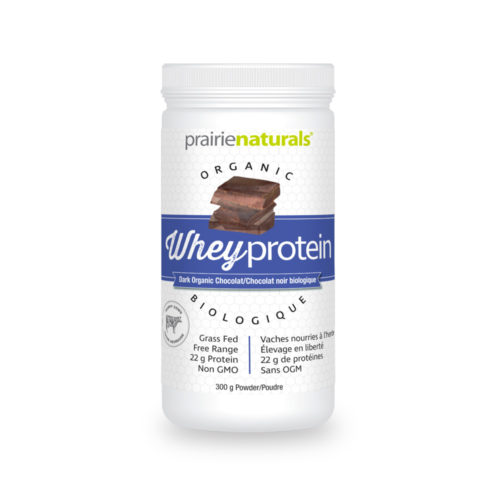 Organic Whey Protein with chocolate flavour