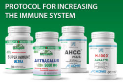 Protocol for increasing the immune system