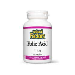 FOLIC ACID (VITAMIN B9) 1 MG